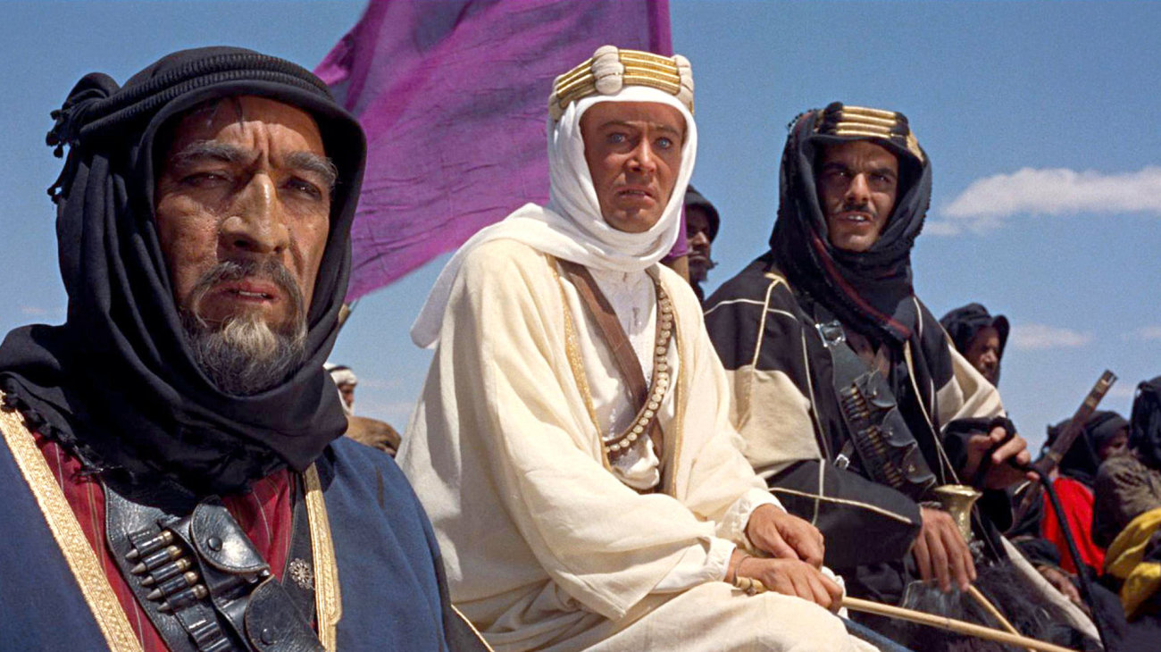 lawrence of arabia essay Lawrence of arabia essaysthe story opens with a large symphonic overture, which leads into the death of thomas edward lawrence (peter o'toole) in a motorcycle crash.