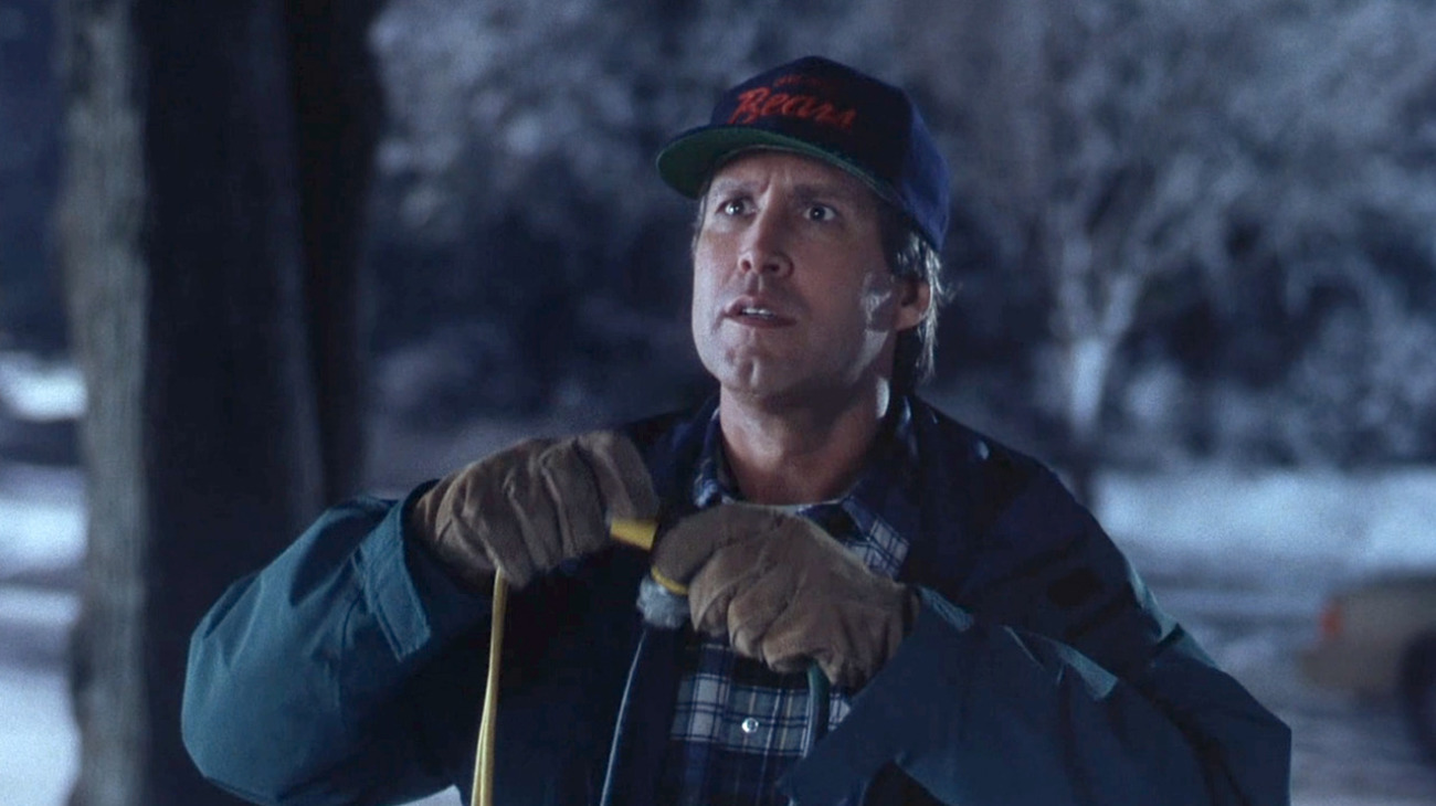 Chevy Chase Christmas Vacation.National Lampoon S Christmas Vacation 1989 Alternate
