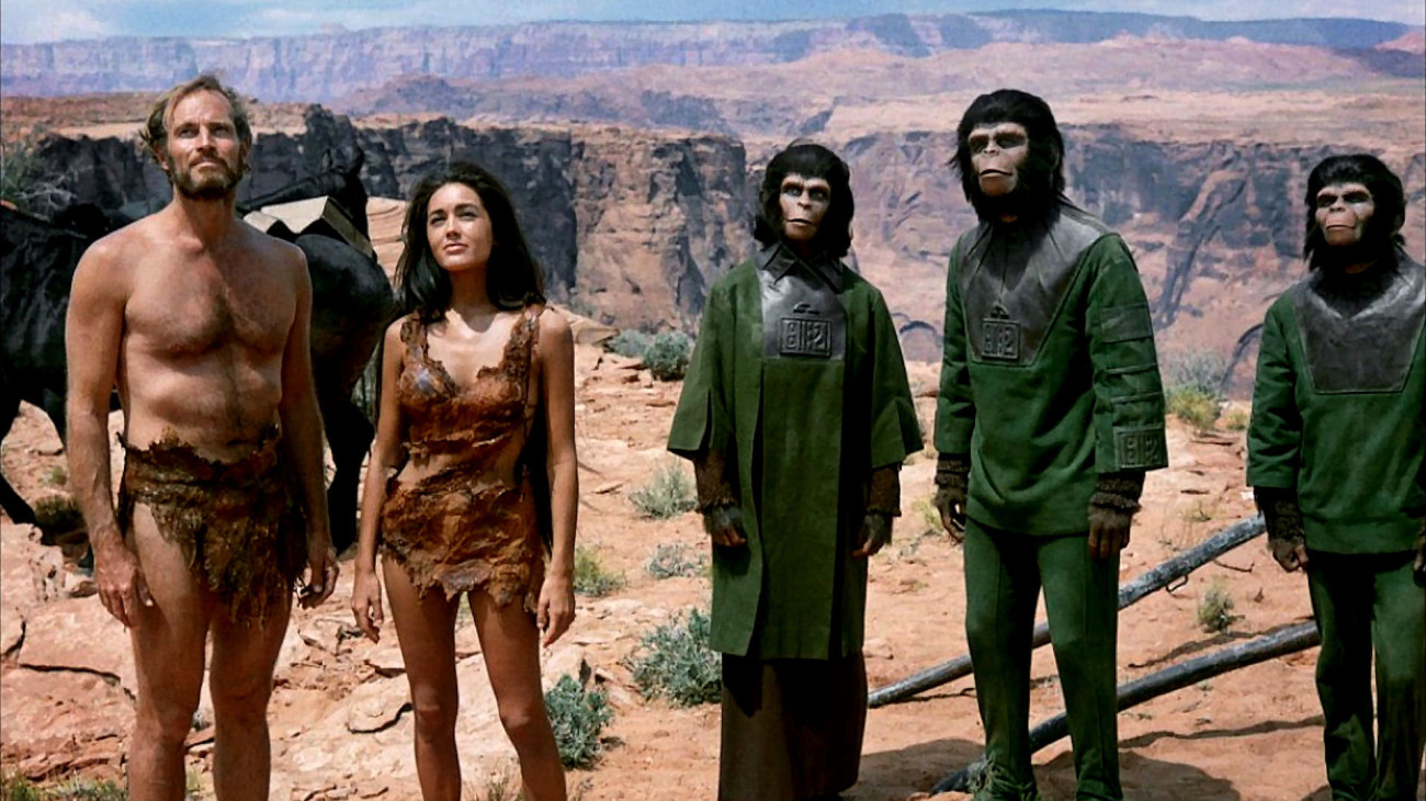 the alternate ending to the monkeys The twist ending of planet of the apes  the monkeys taking over back  could this be a case of the magnetic storm actually taking marky mark to an alternate.