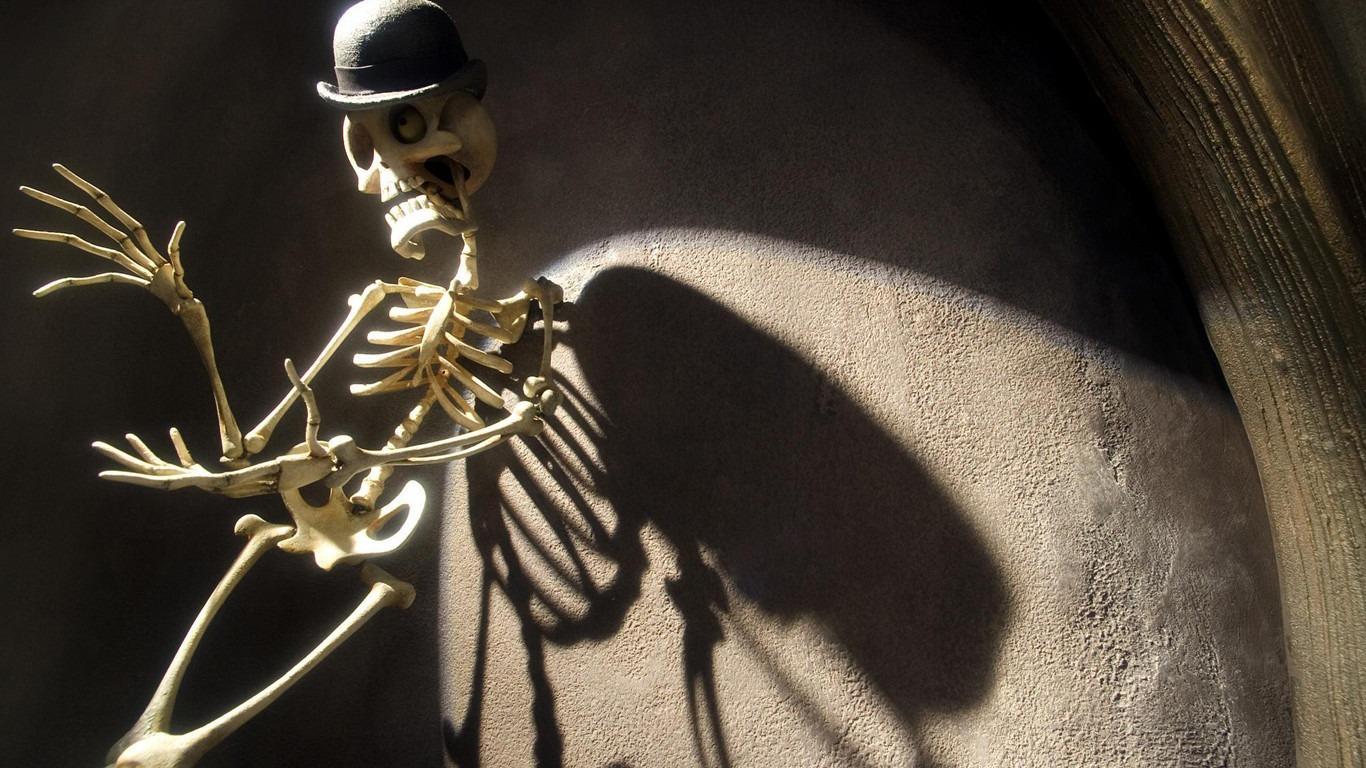 Corpse Bride backdrop
