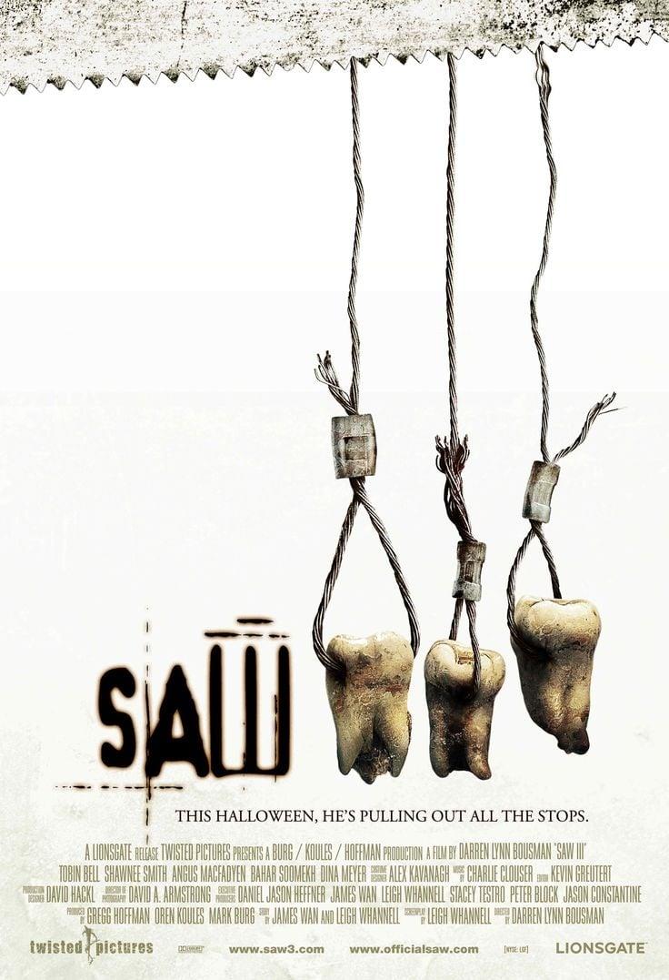 Saw III poster