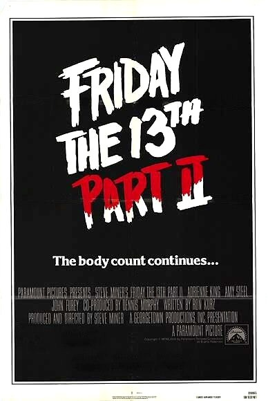 Friday the 13th, Part 2 poster