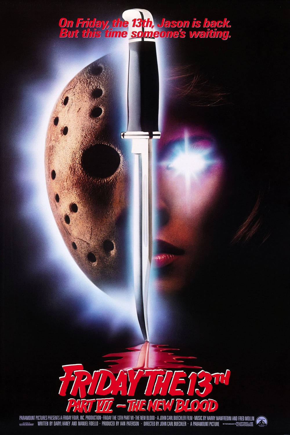 Friday the 13th, Part VII: The New Blood poster