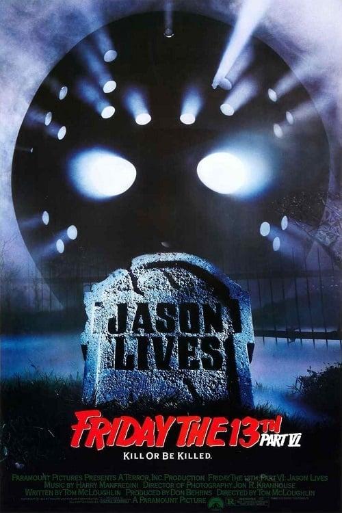 Friday the 13th, Part VI: Jason Lives poster