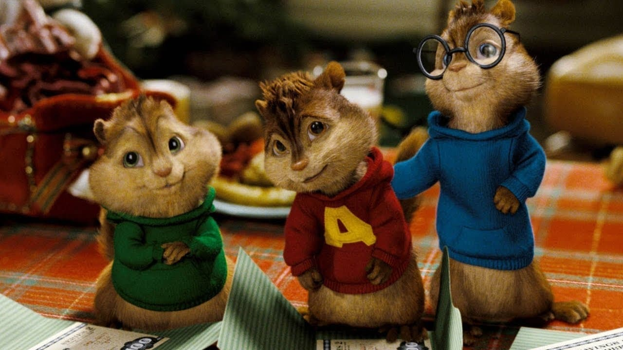 Alvin and the Chipmunks backdrop