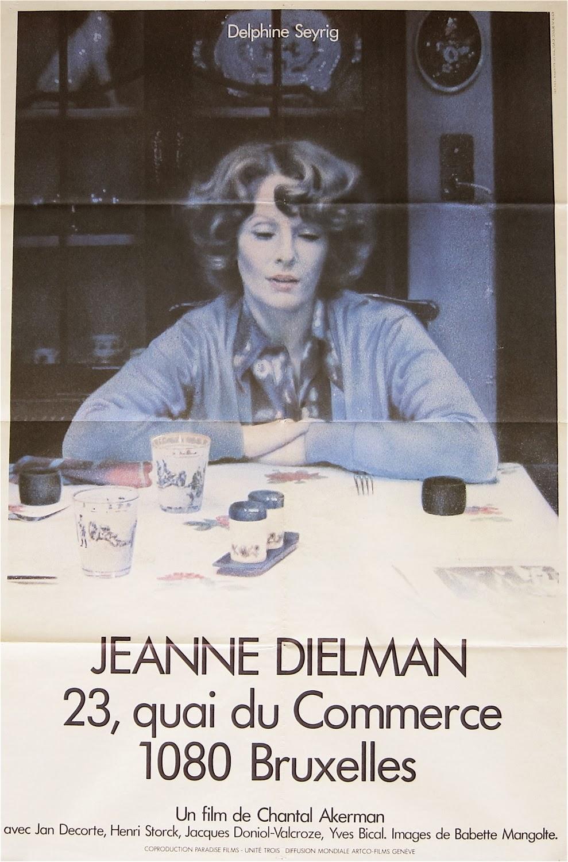 Jeanne Dielman, 23 Quai du Commerce, 1080 Bruxelles poster
