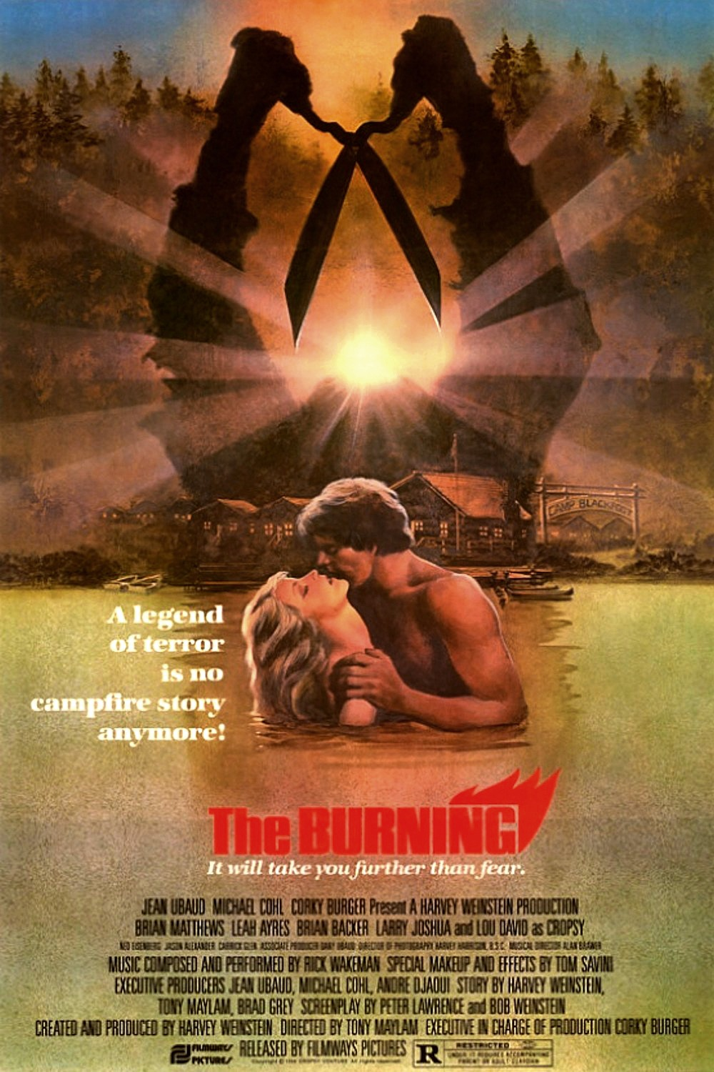 The Burning poster