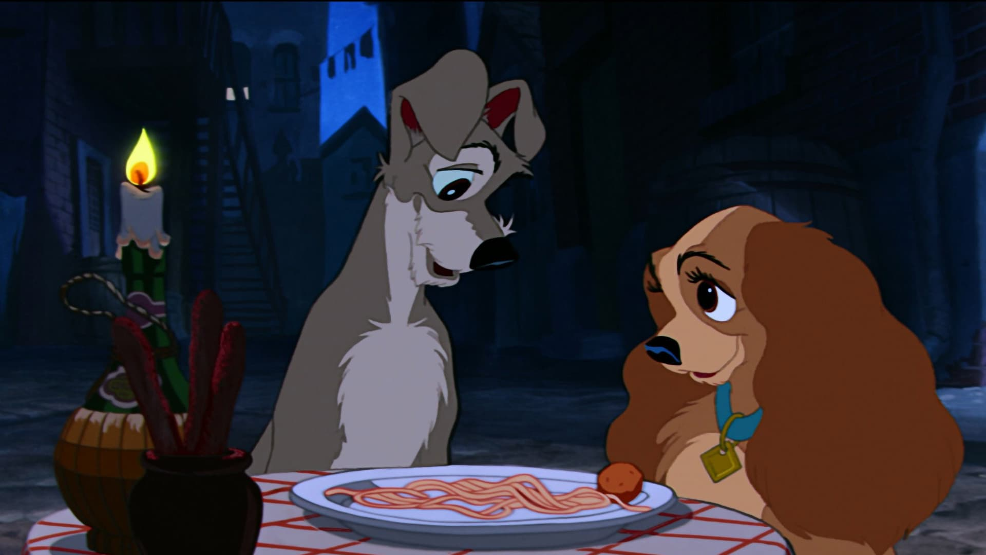 Lady And The Tramp 1955 Movie Review Alternate Ending