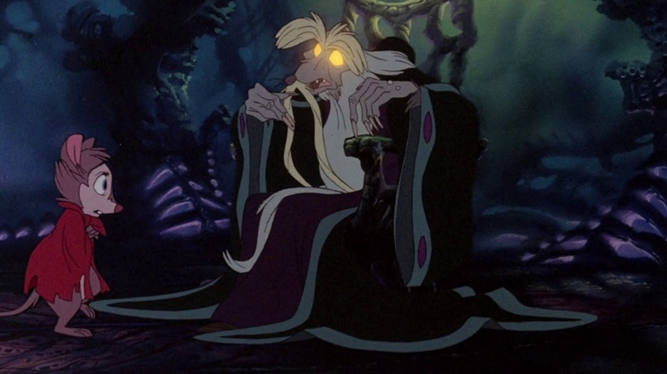 The Secret of NIMH backdrop
