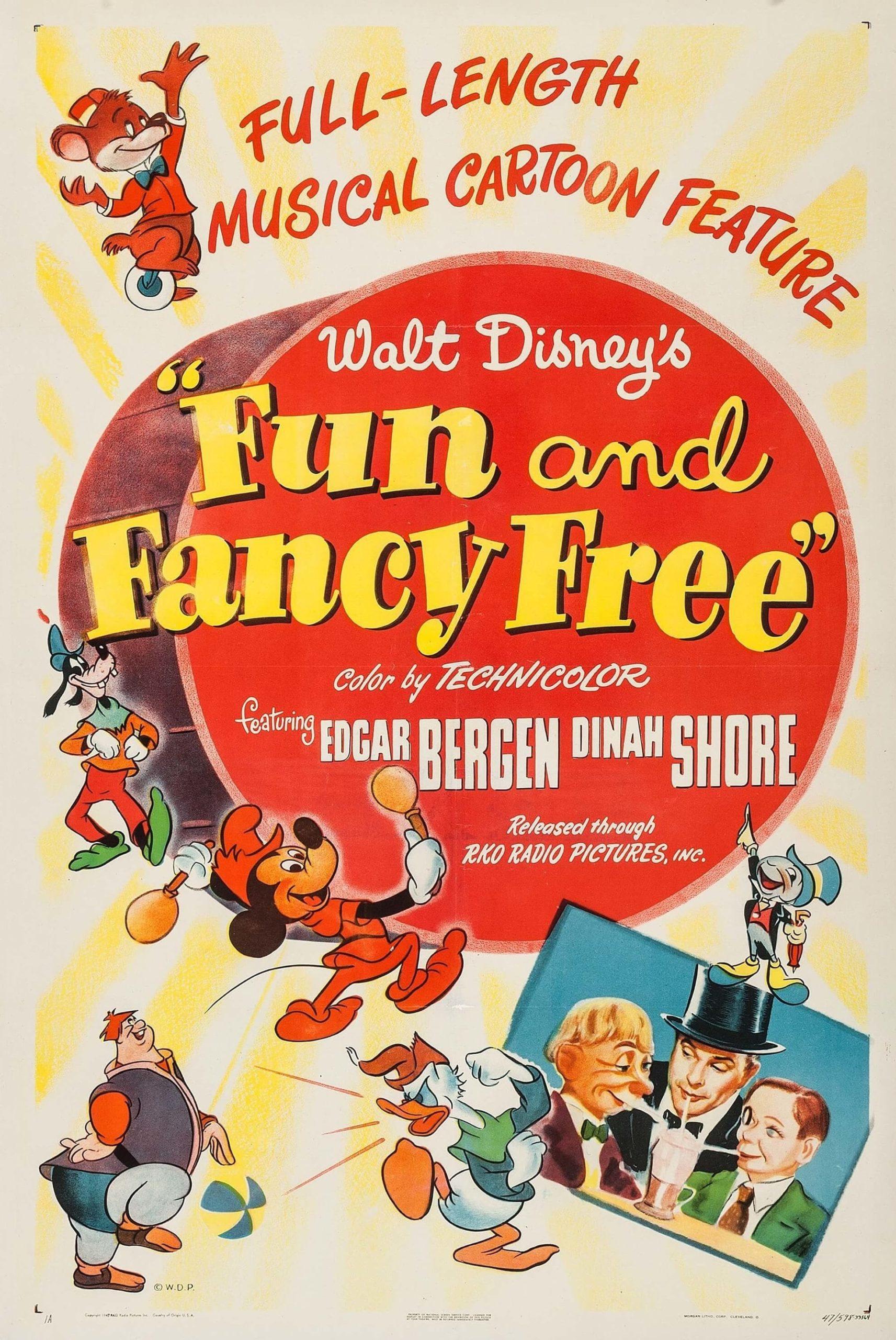 Fun & Fancy Free poster