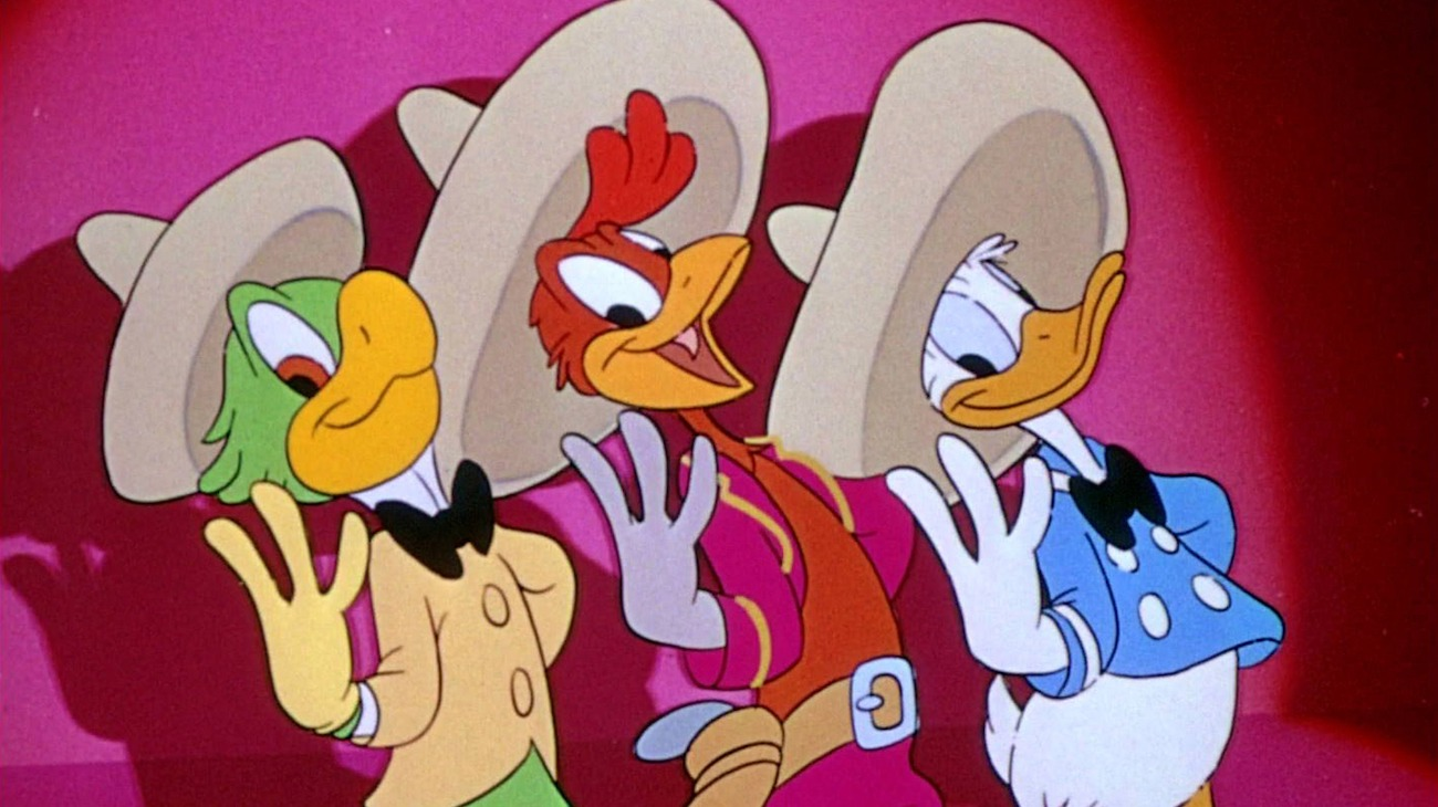 The Three Caballeros backdrop