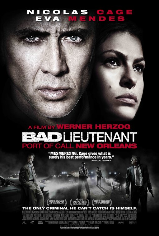 The Bad Lieutenant: Port of Call: New Orleans poster