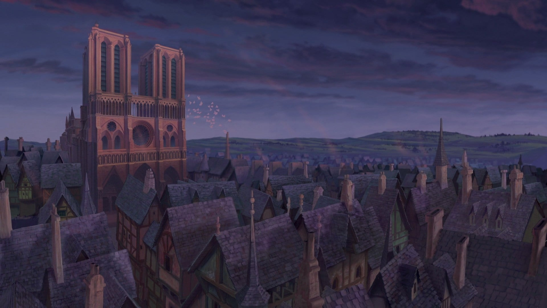 The Hunchback of Notre Dame backdrop
