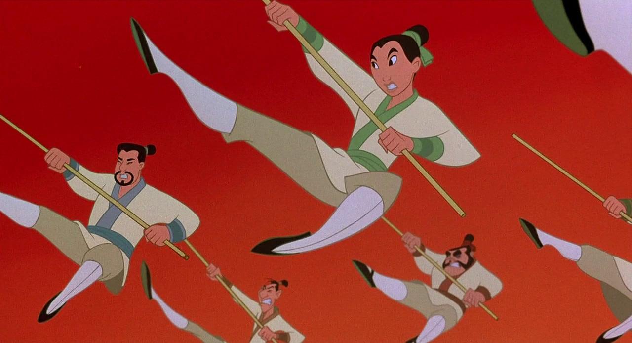 Mulan backdrop