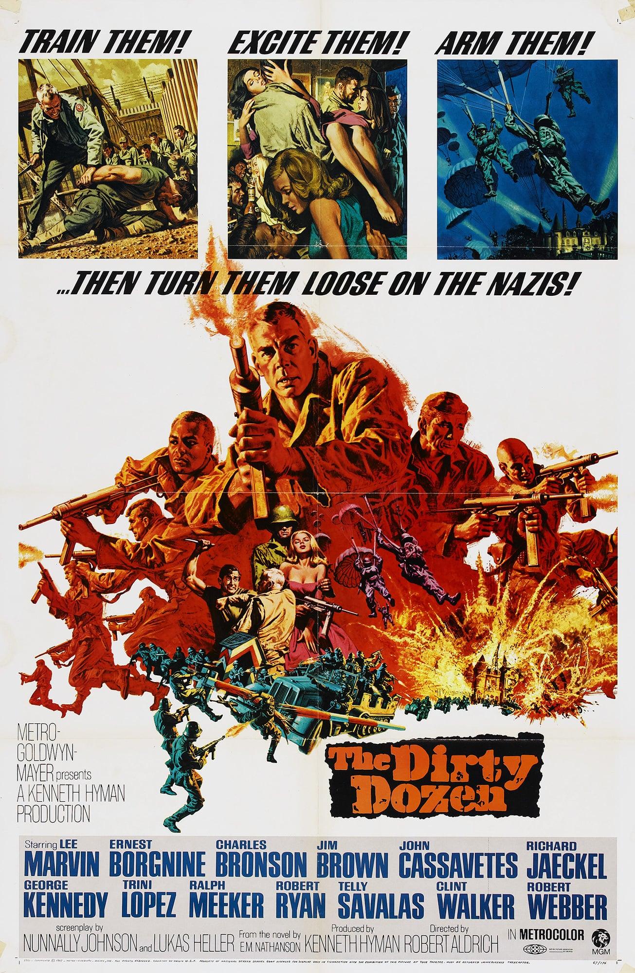 The Dirty Dozen poster