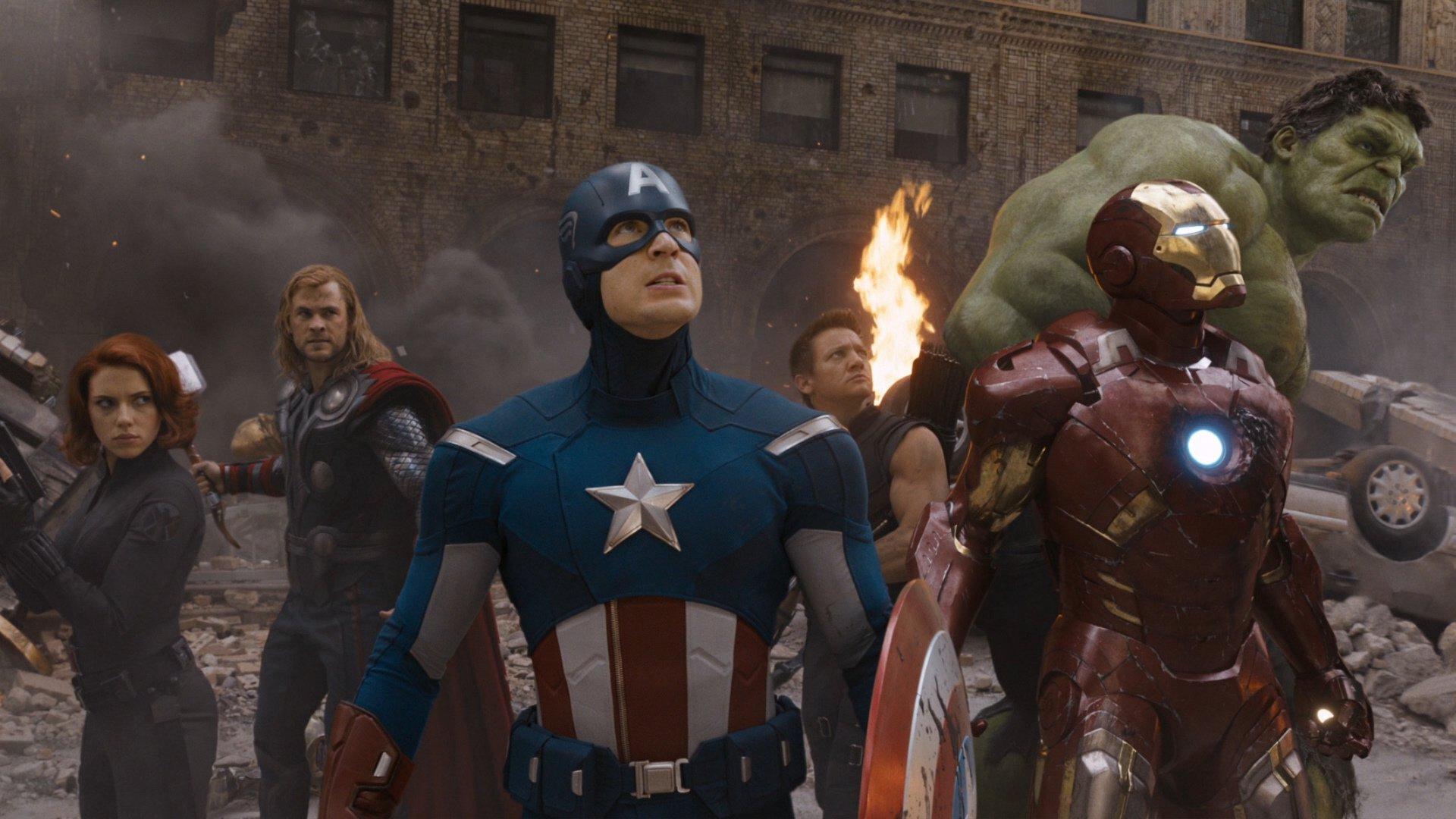 The Avengers backdrop