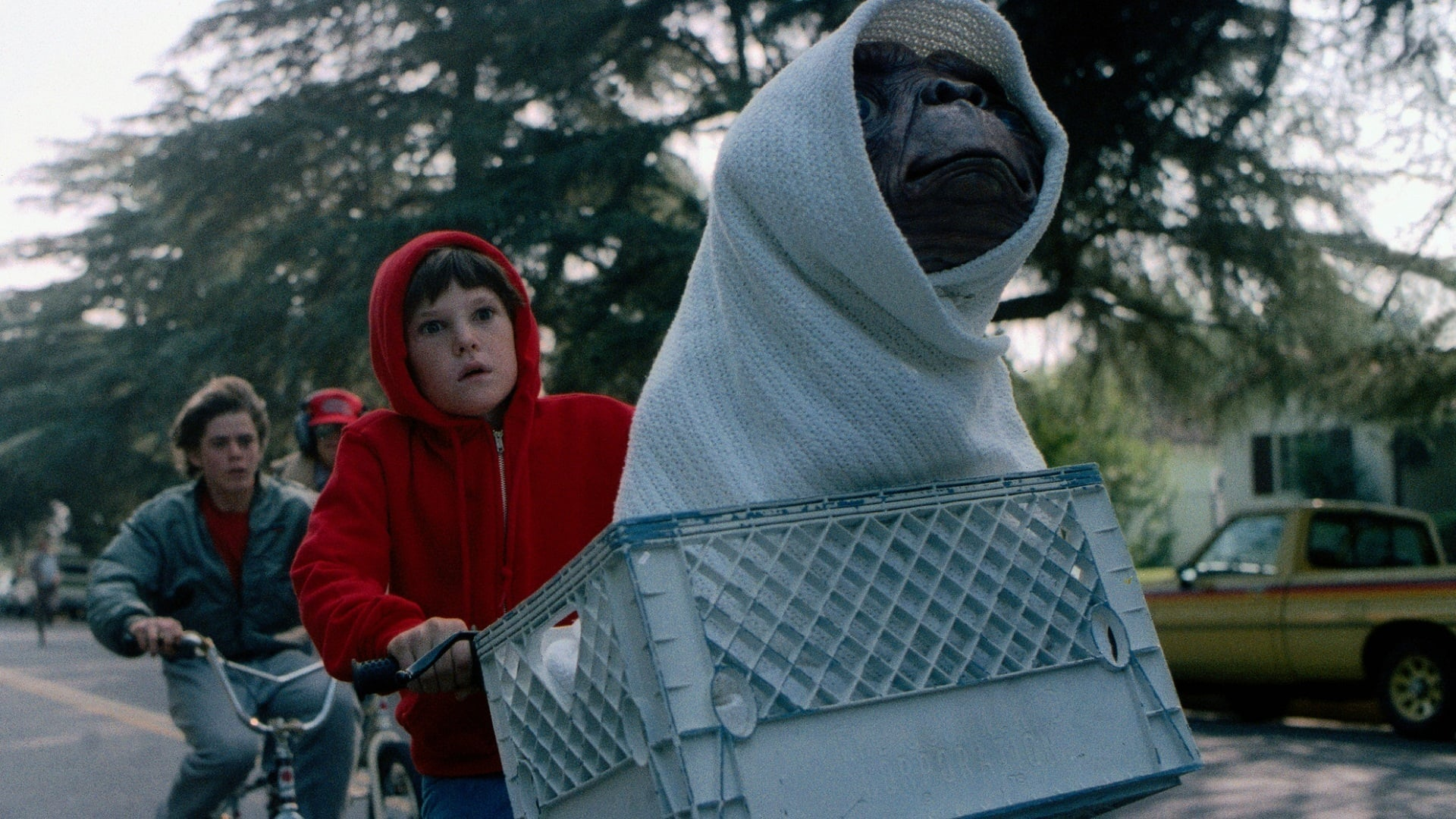 E.T. The Extra-Terrestrial backdrop