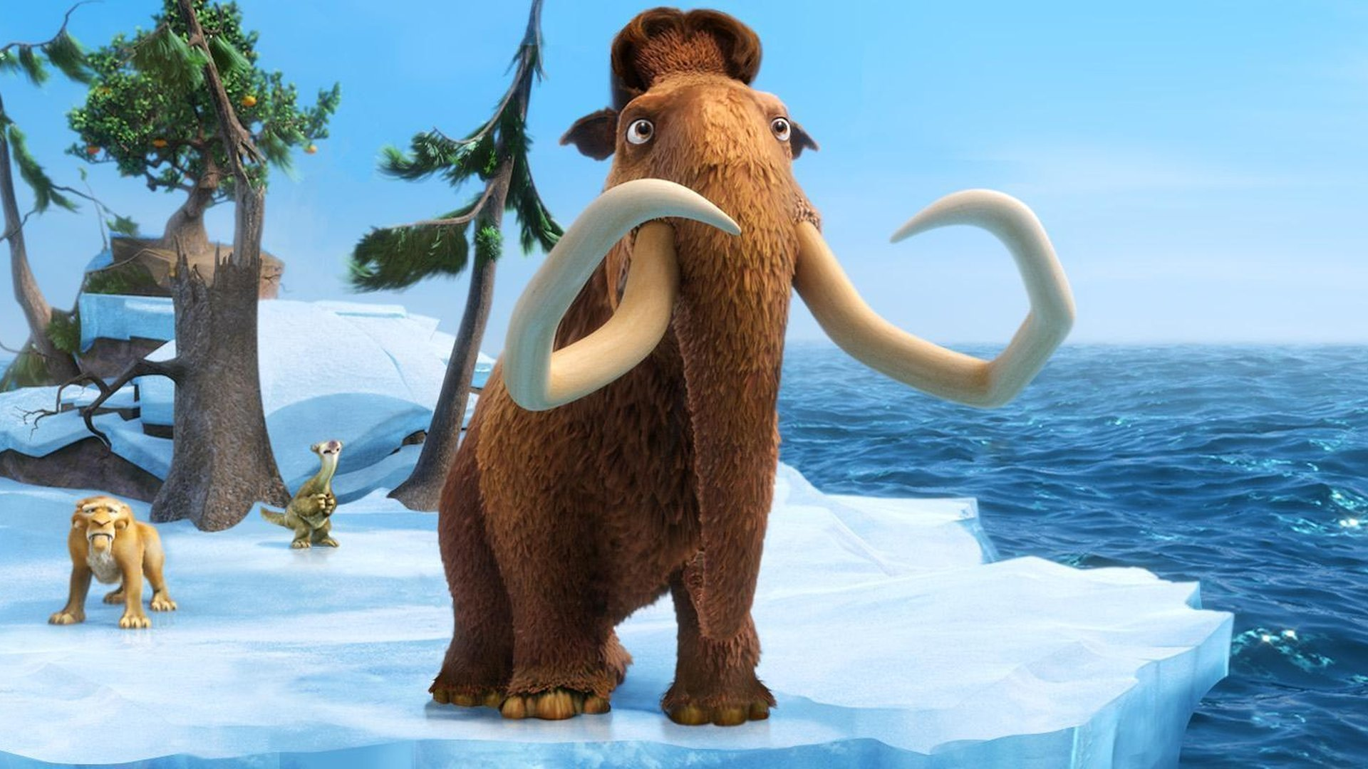 Ice Age: Continental Drift backdrop