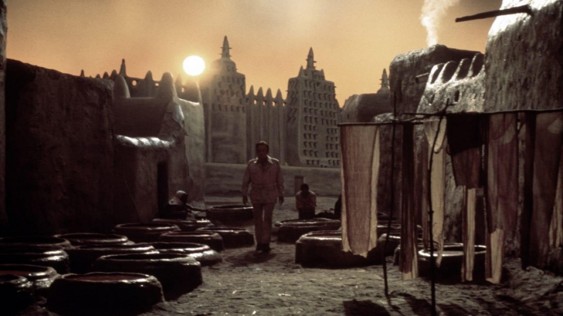 Exorcist II: The Heretic backdrop