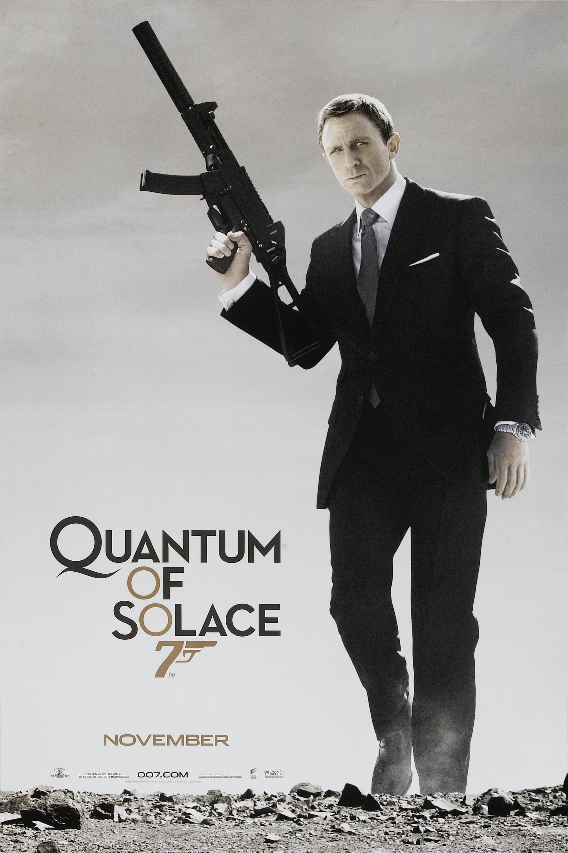 Quantum of Solace poster
