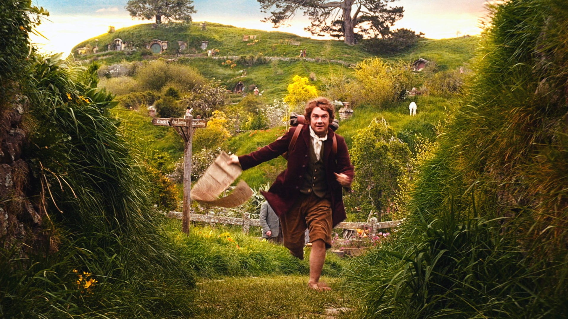 The Hobbit: An Unexpected Journey backdrop