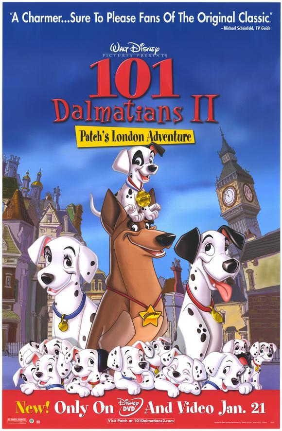 101 Dalmatians II: Patch's London Adventure poster