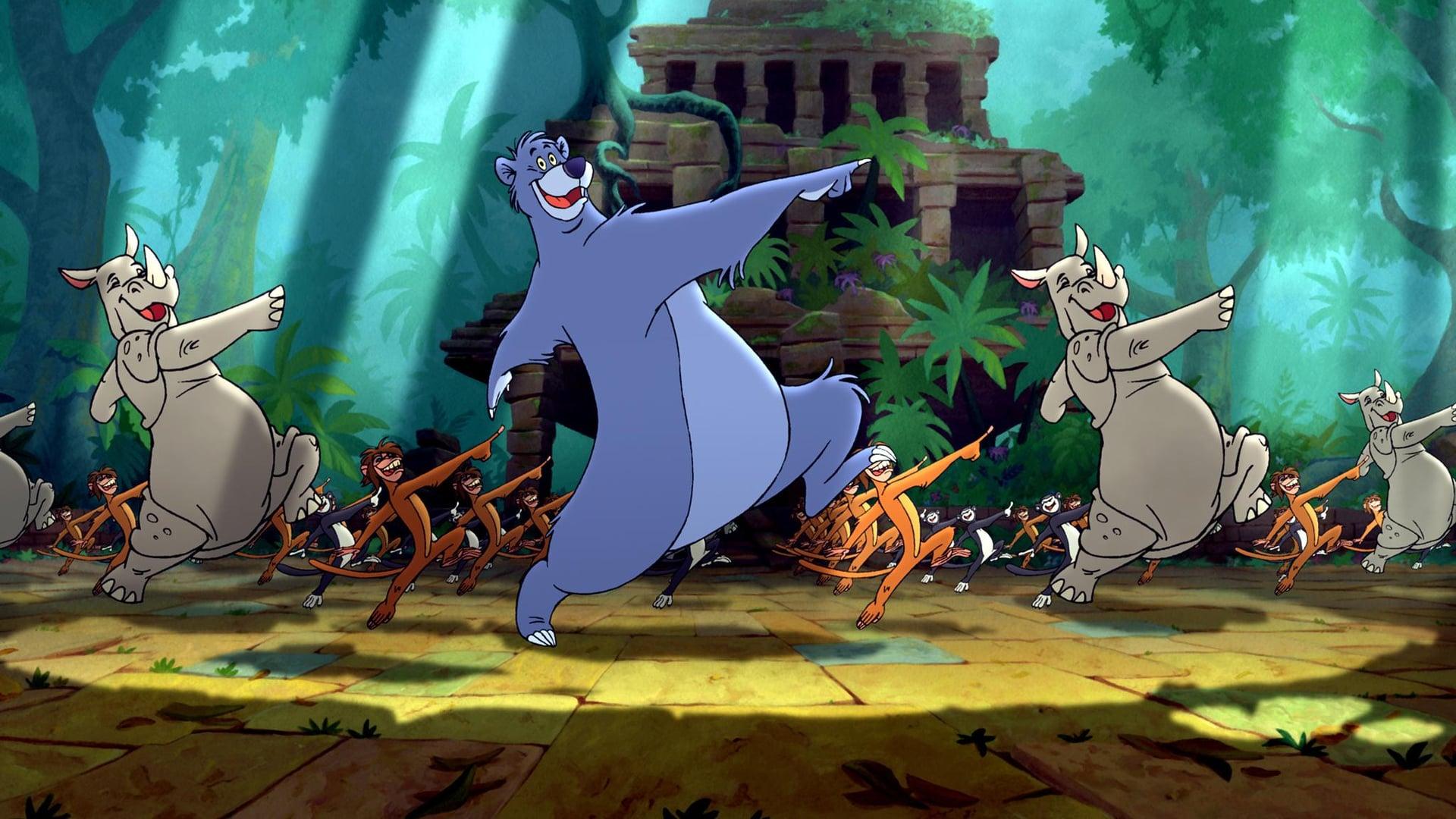 The Jungle Book 2 backdrop