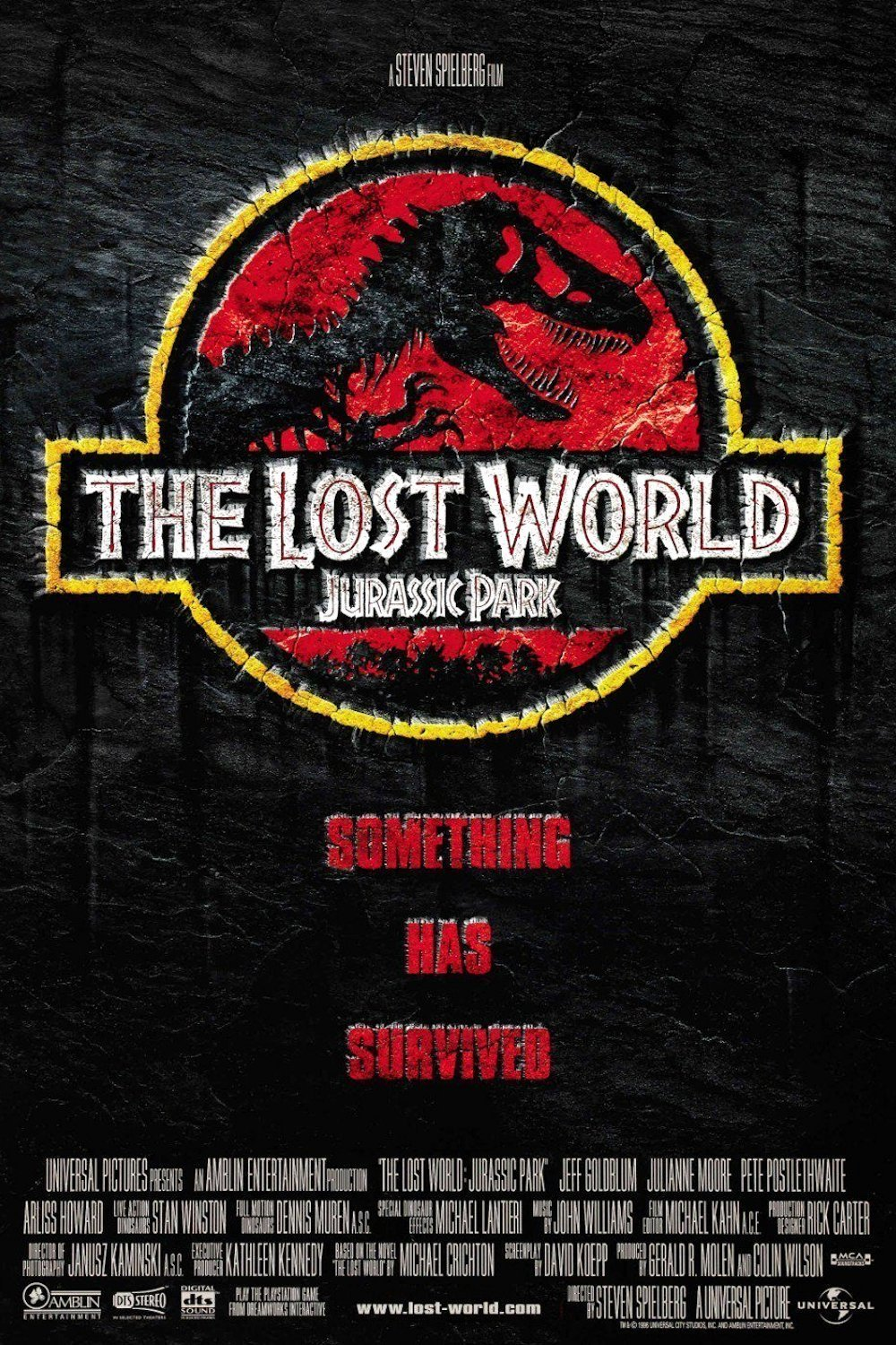 The Lost World: Jurassic Park poster