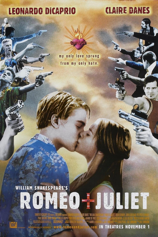 William Shakespeare's Romeo + Juliet poster