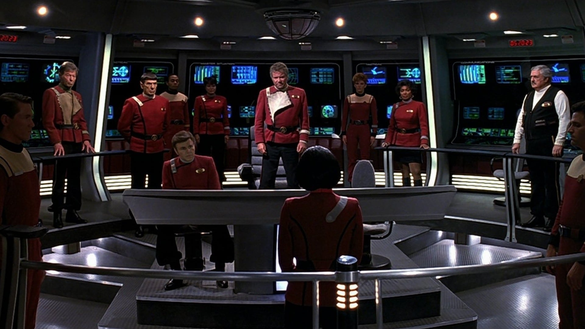 Star Trek VI: The Undiscovered Country backdrop