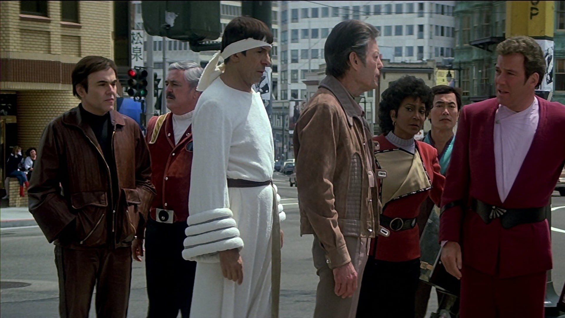 Star Trek IV: The Voyage Home backdrop