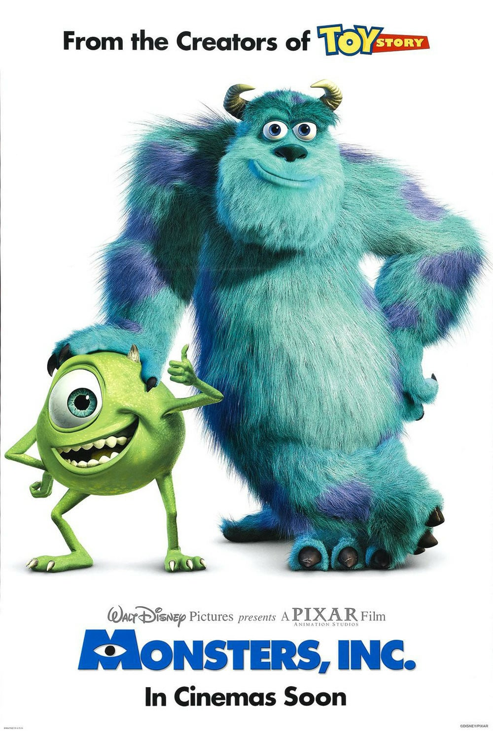 Monsters, Inc. poster