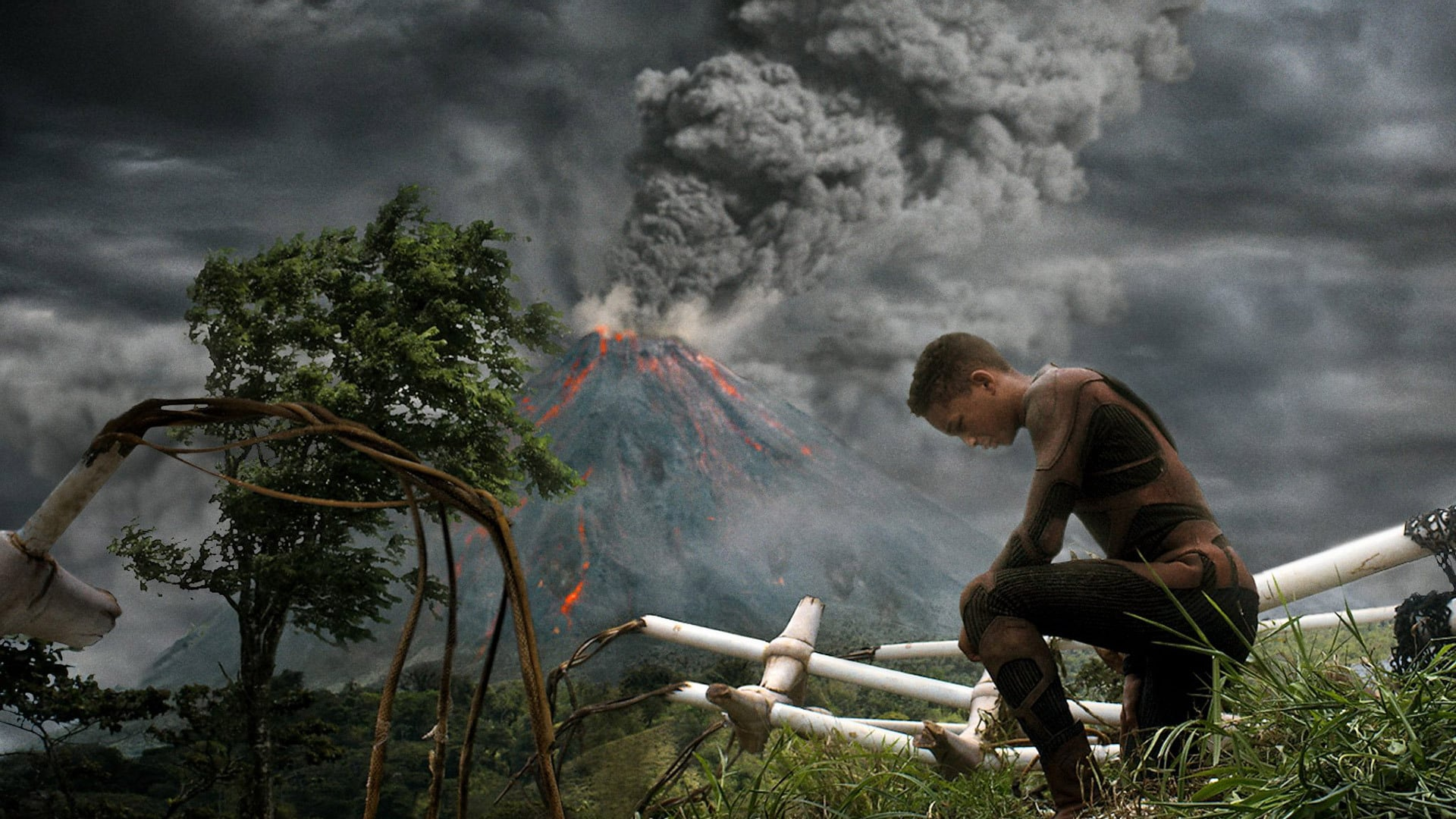 After Earth backdrop