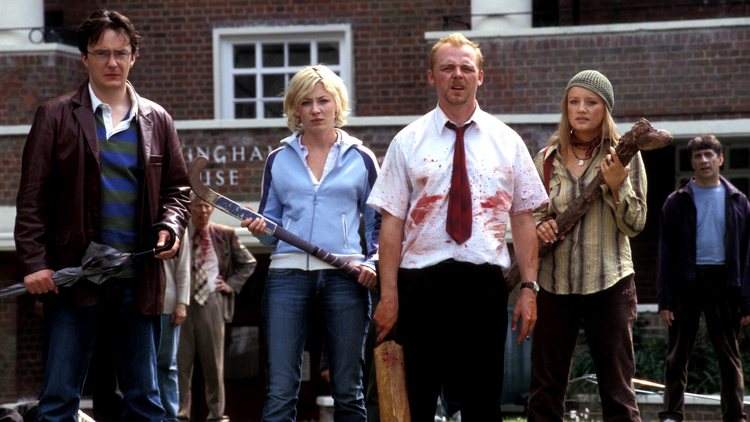 Shaun of the Dead backdrop