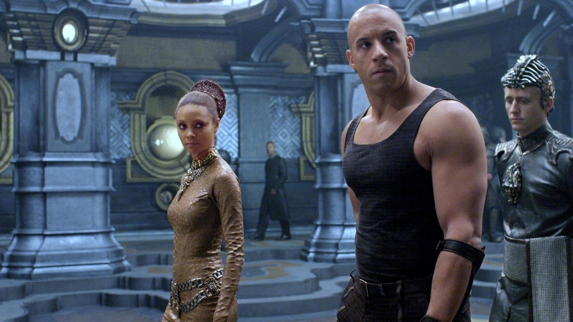 The Chronicles of Riddick backdrop