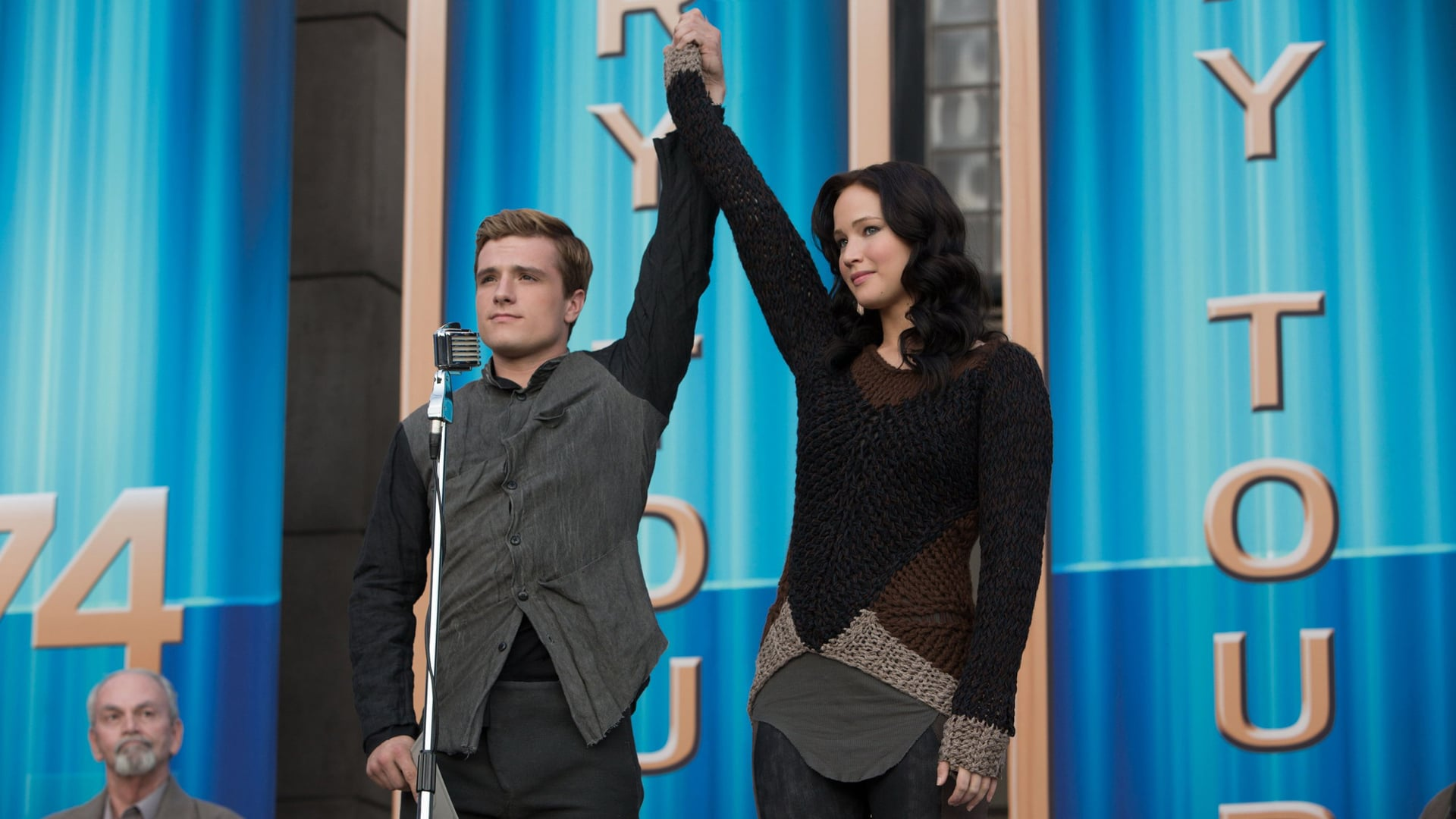 The Hunger Games: Catching Fire backdrop