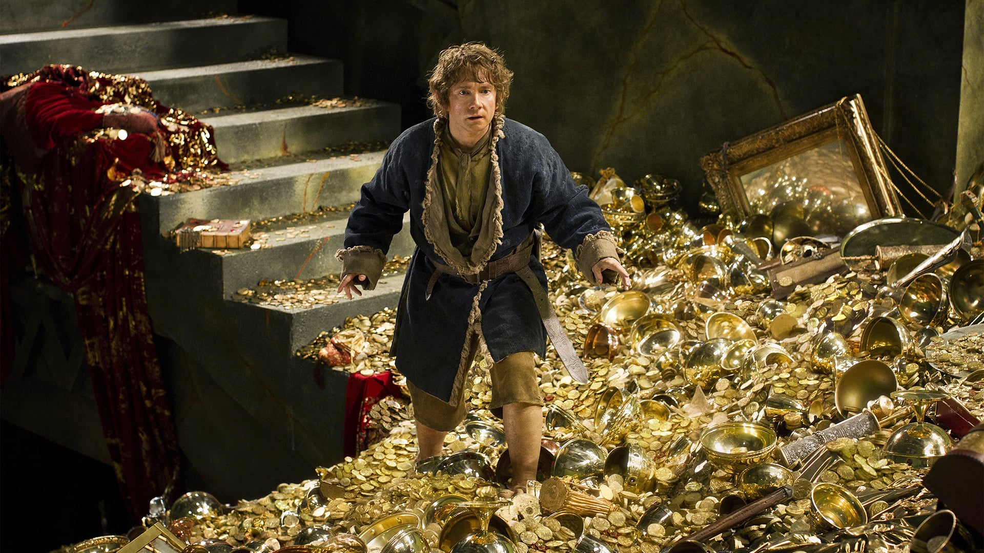 The Hobbit: The Desolation of Smaug backdrop