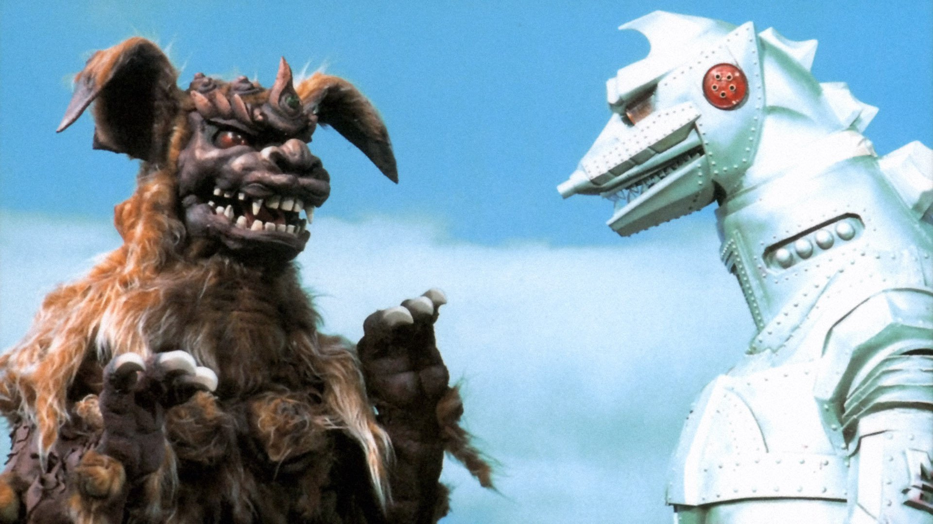 Godzilla vs. Mechagodzilla backdrop