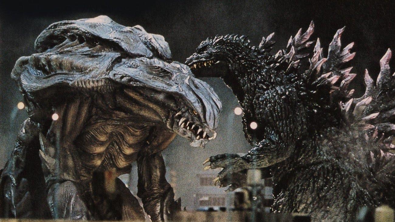 Godzilla 2000: Millennium backdrop