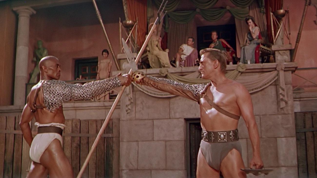 Spartacus backdrop