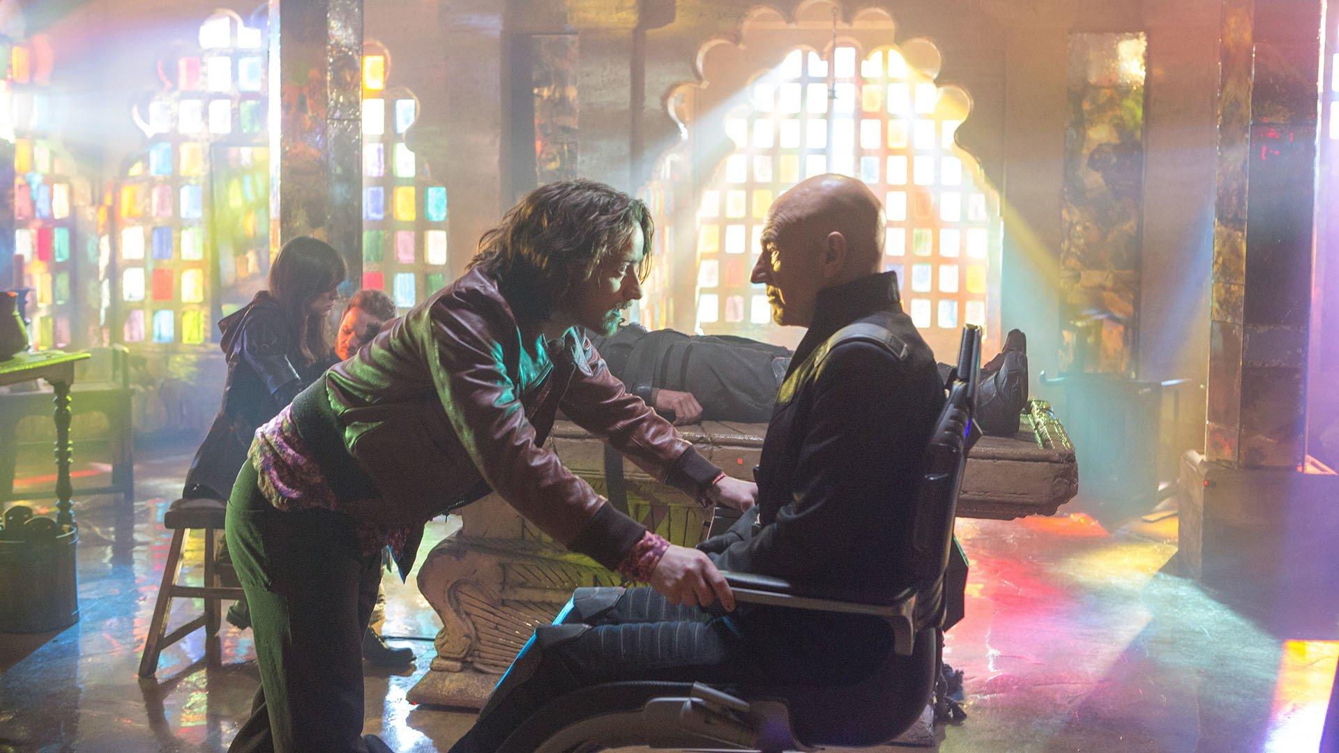 X-Men: Days of Future Past backdrop