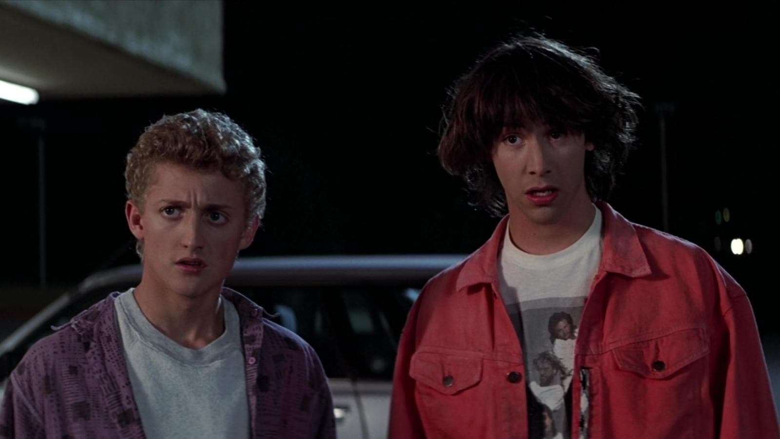 Bill & Ted's Excellent Adventure backdrop