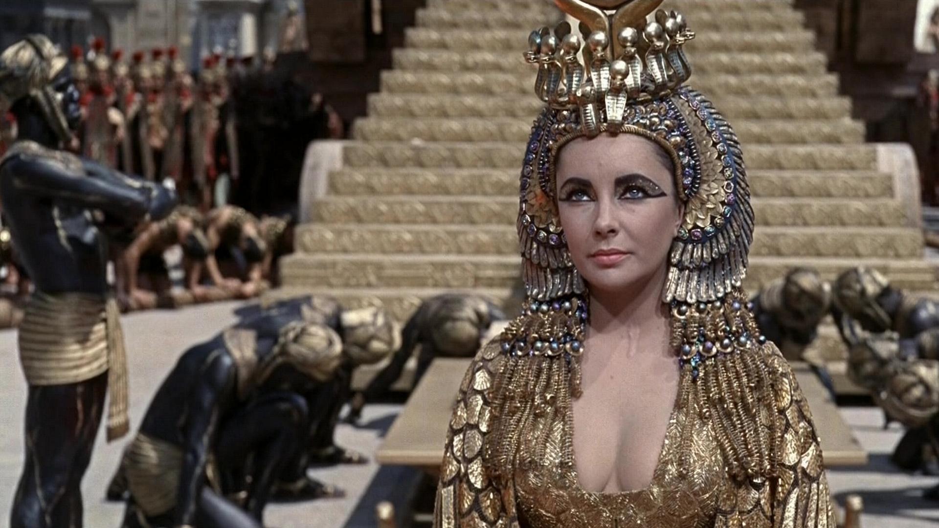 Cleopatra backdrop