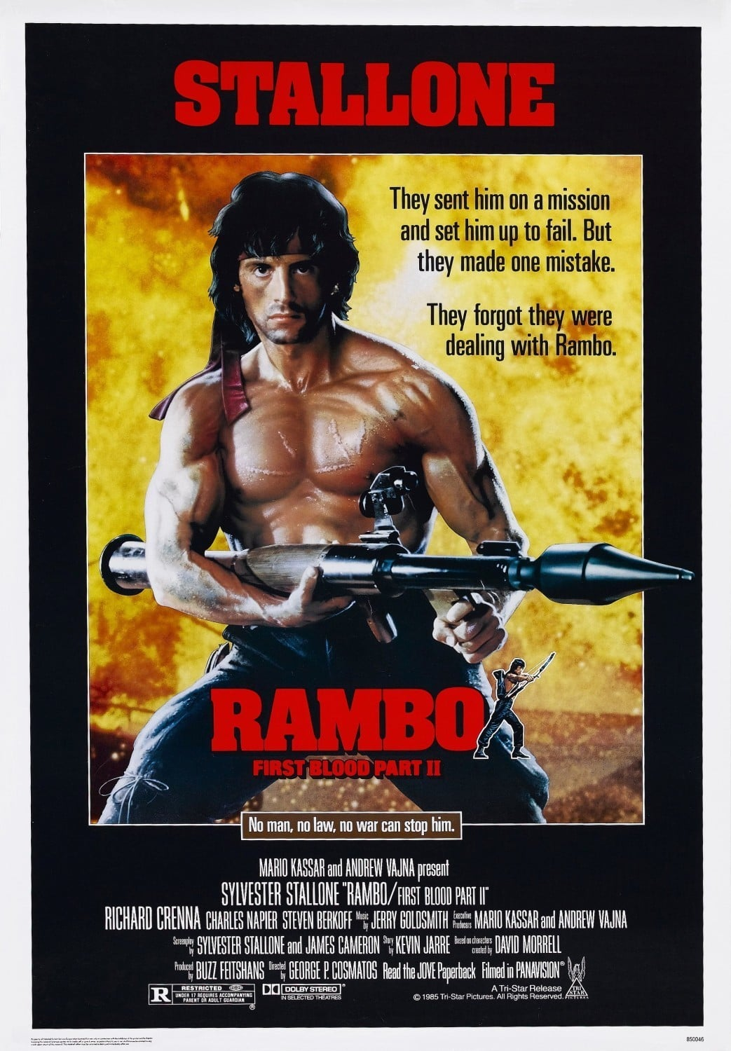 Rambo: First Blood, Part II poster