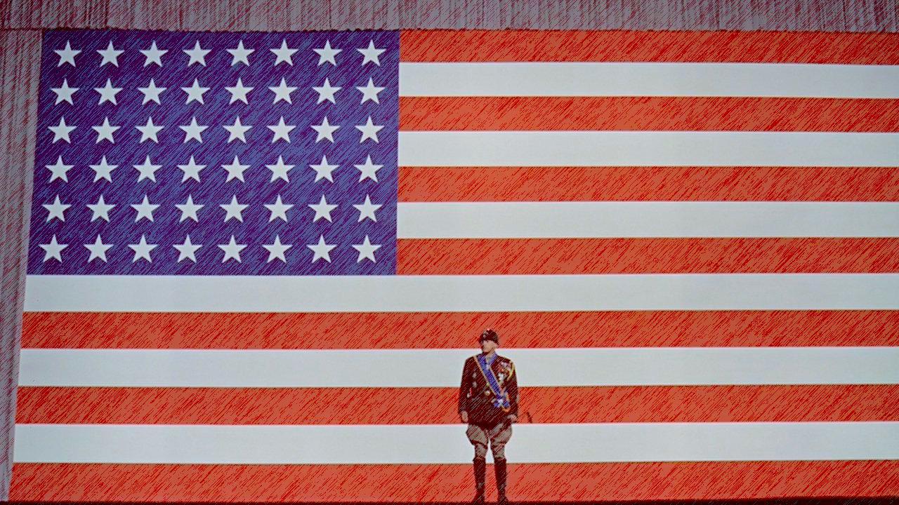 Patton backdrop