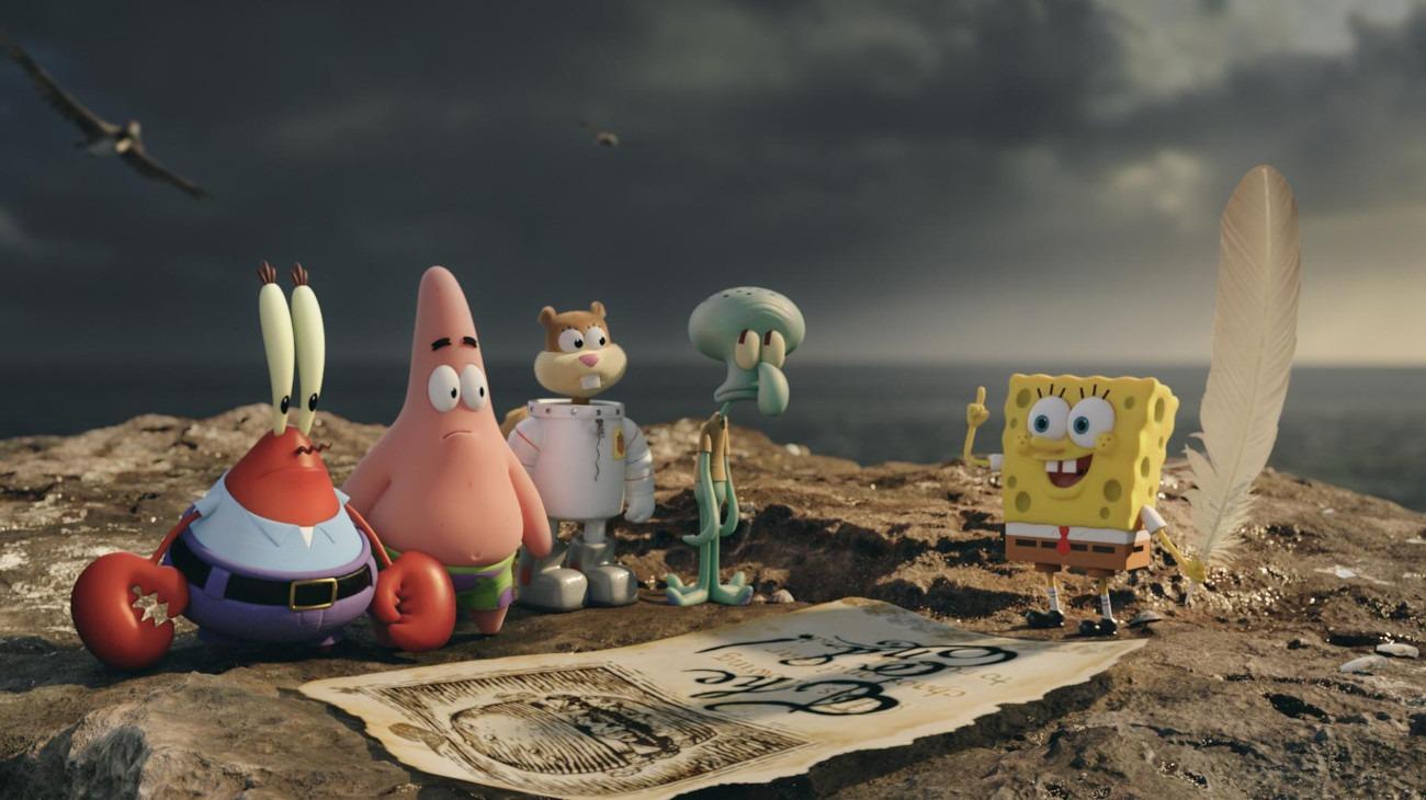 The SpongeBob Movie: Sponge Out of Water backdrop