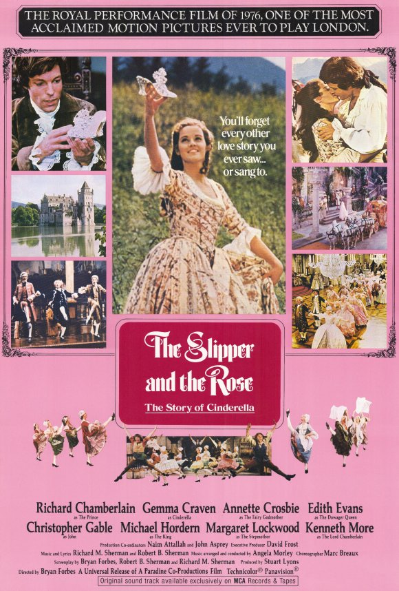The Slipper and the Rose: The Story of Cinderella poster