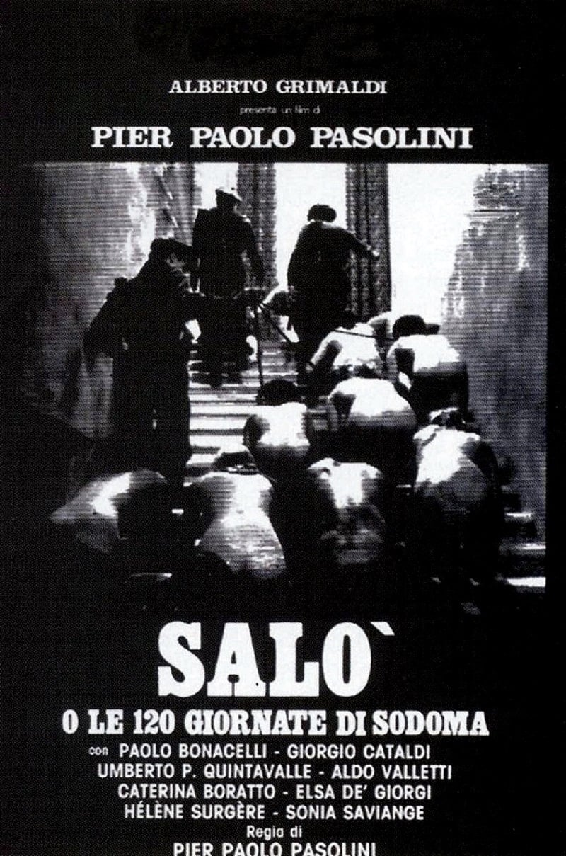Salo, or the 120 Days of Sodom poster