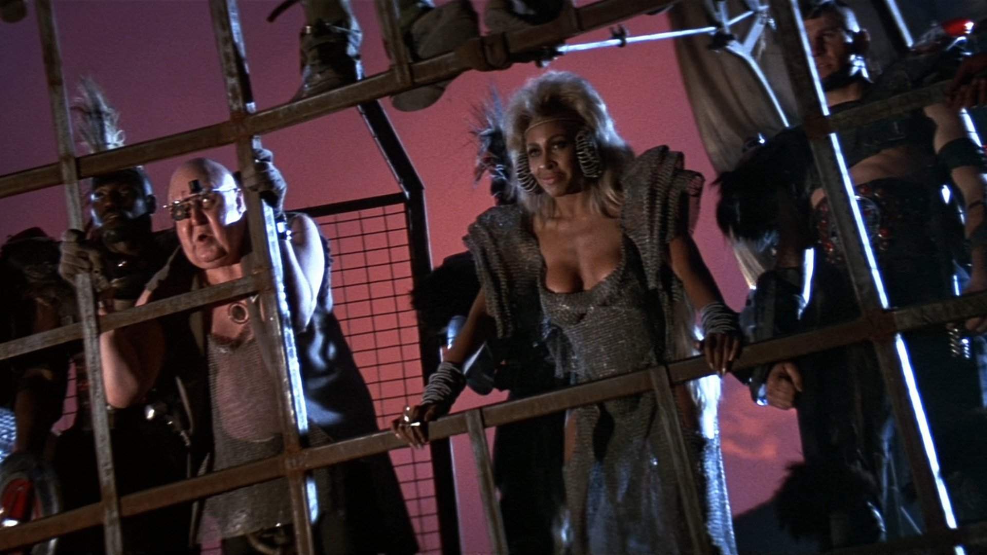 Mad Max Beyond Thunderdome backdrop