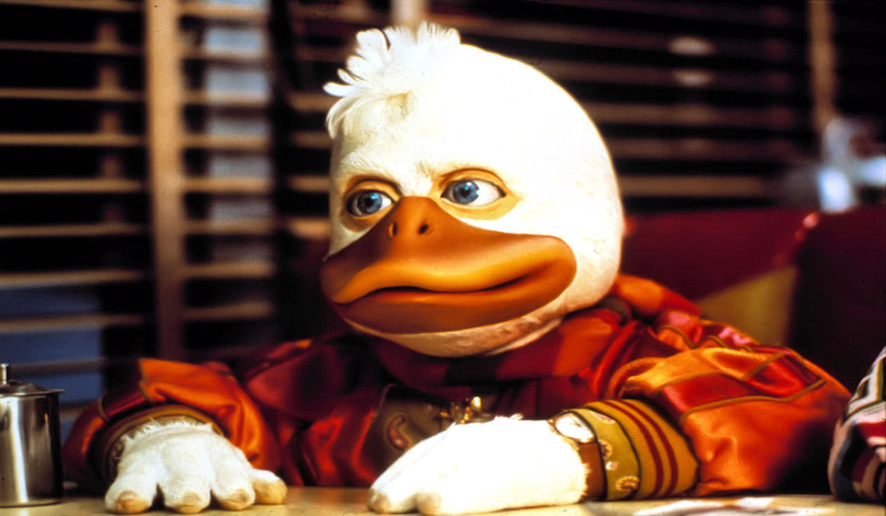 Howard the Duck backdrop